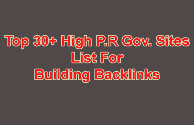 High PR DoFollow Backlinks