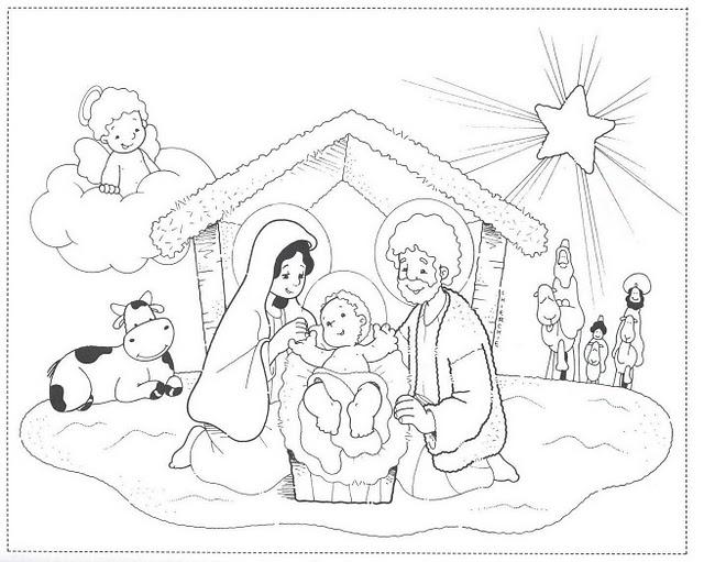 Lujoso Navidad Para Colorear Jesus Adorno - Ideas Para Colorear ...