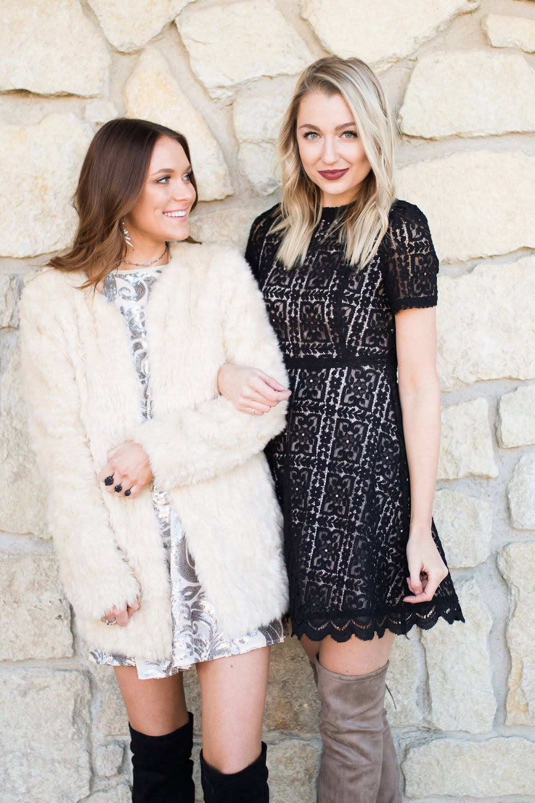 Dressy holiday party or winter wedding