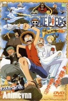 One Piece Movie 2: Cuộc Phiêu Lưu Trên Đảo Đồng Hồ - One Piece Movie 2, One Piece: Nejimakijima no Bouken 2013 Poster