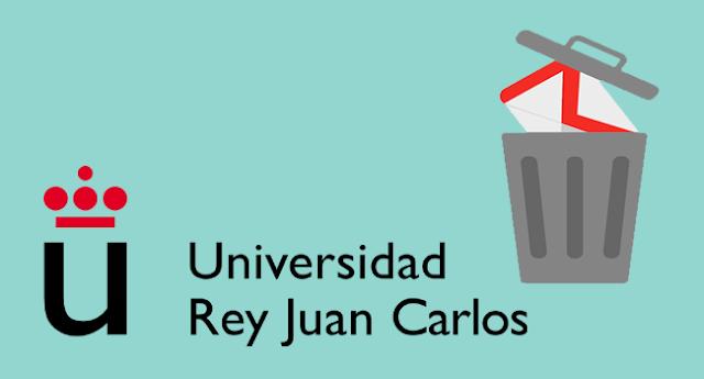La Universidad Rey Juan Carlos denuncia un borrado masivo de 5.400 emails