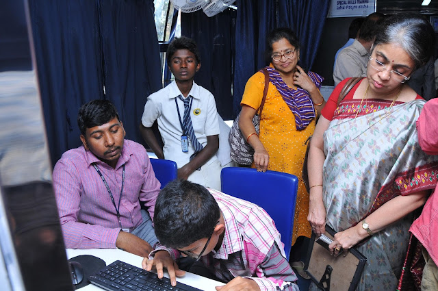 Photo 3 - Computer Training in Maitri - Mobile Vision Rehabilitation