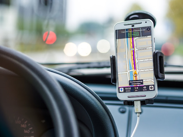 Gps - smartphone - charge - voiture