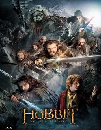 The Hobbit An Unexpected Journey 2012 Extended Hindi Dual Audio Full Movie Free Download