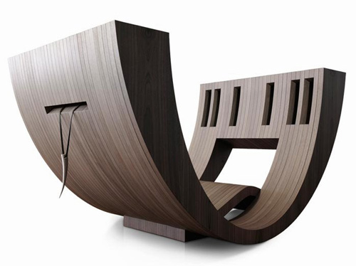 Comfortable Reading Room Design. Kosha by Claudio D'amore ...