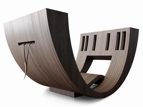 Comfortable Reading Room Design. Kosha by Claudio D'amore