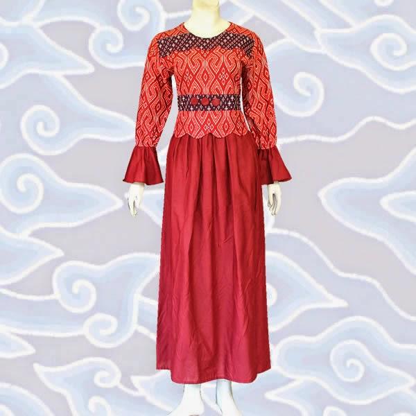 Baju Batik Muslim Modern Terbaru