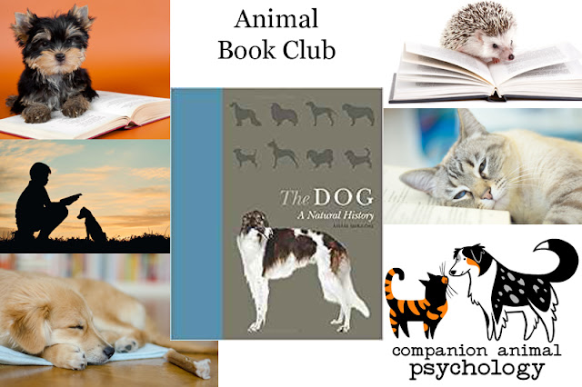 The October 2018 choice for the Animal Book Club is The Dog: A Natural History