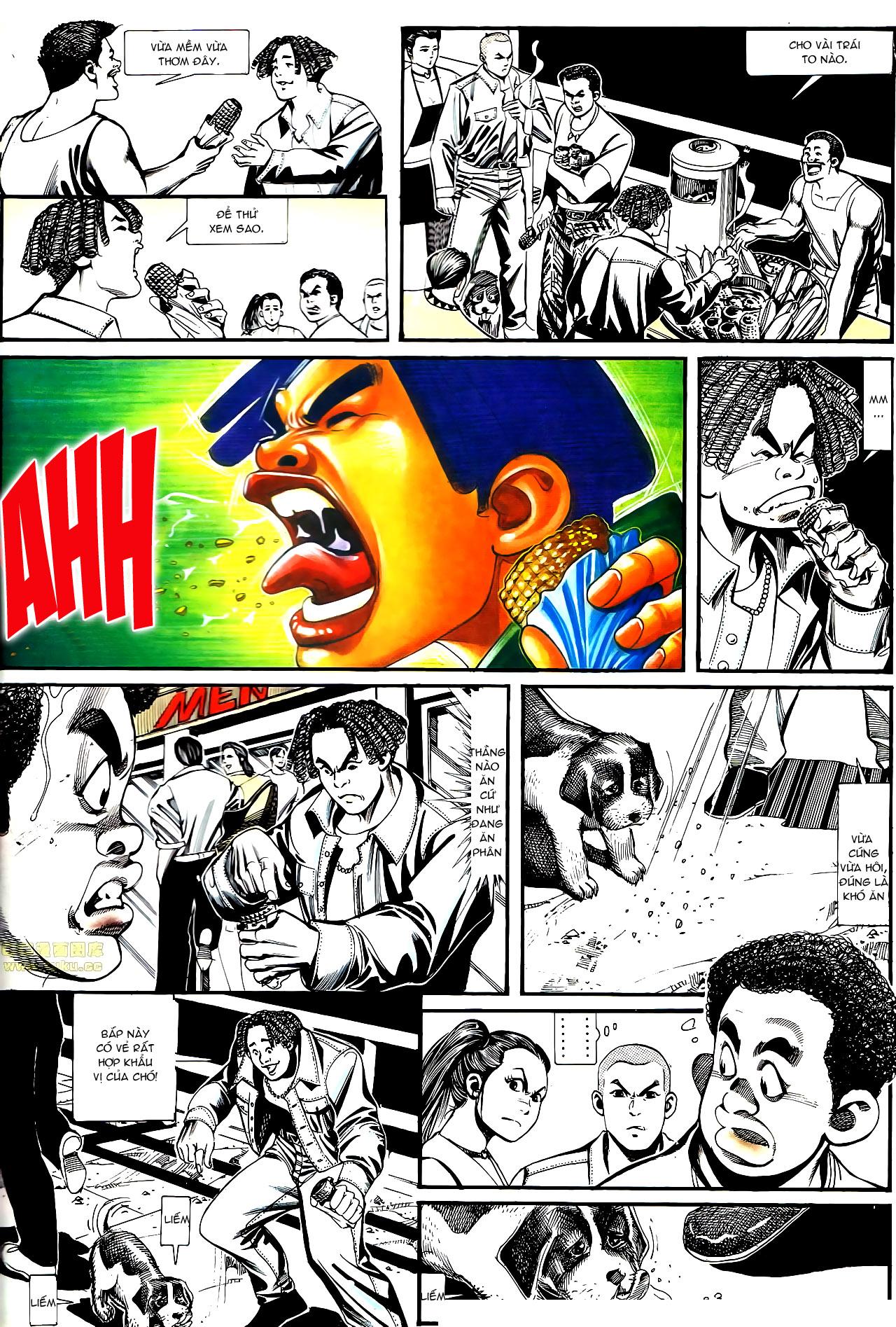 Người Trong Giang Hồ chapter 152: trăng sáng chiêm đông trang 8