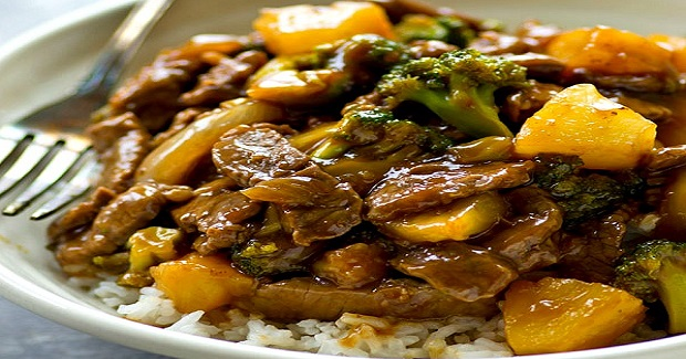 Pineapple Beef And Broccoli Stir-Fry Recipe