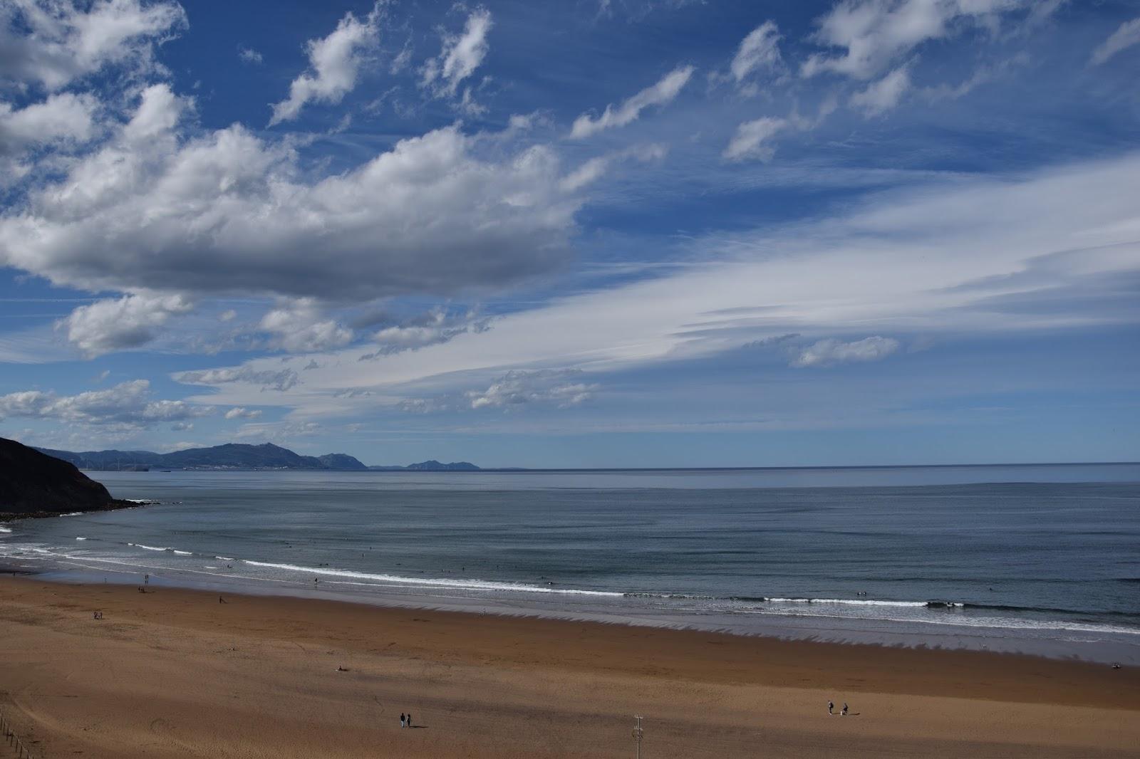 Kraj Basków trekking z dziećmi plaża