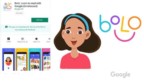 Google 'Bolo' app. Google. 'Bolo'. Google App