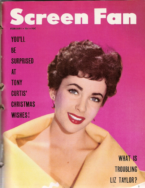 Old Pictures Of Elizabeth Taylor On Magazine Covers