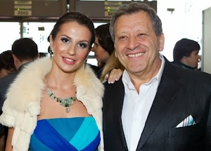 Boris Grachevsky and his young wife divorced