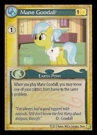 My Little Pony Mane Goodall GenCon CCG Card