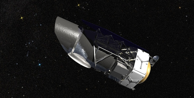 NASA's Wide Field Infrared Survey Telescope (WFIRST), illustrated here, will carry a Wide Field Instrument to capture Hubble-quality images covering large swaths of sky, enabling cosmic evolution studies. Its Coronagraph Instrument will directly image exoplanets and study their atmospheres. Credits: NASA/GSFC/Conceptual Image Lab