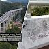 Tak sampai seminggu dibuka, dah ada tangan gatal buat graffiti di Rawang Bypass