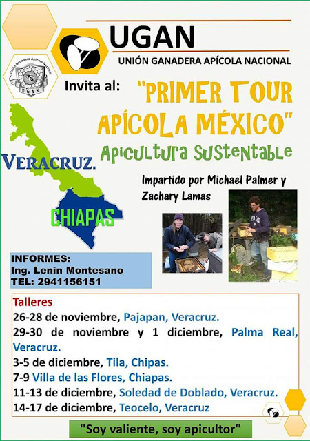 1er TOUR APÍCOLA DE MÉXICO.