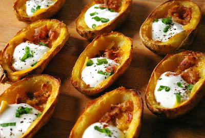 ziemniaki zapiekane z boczkiem i cheddarem