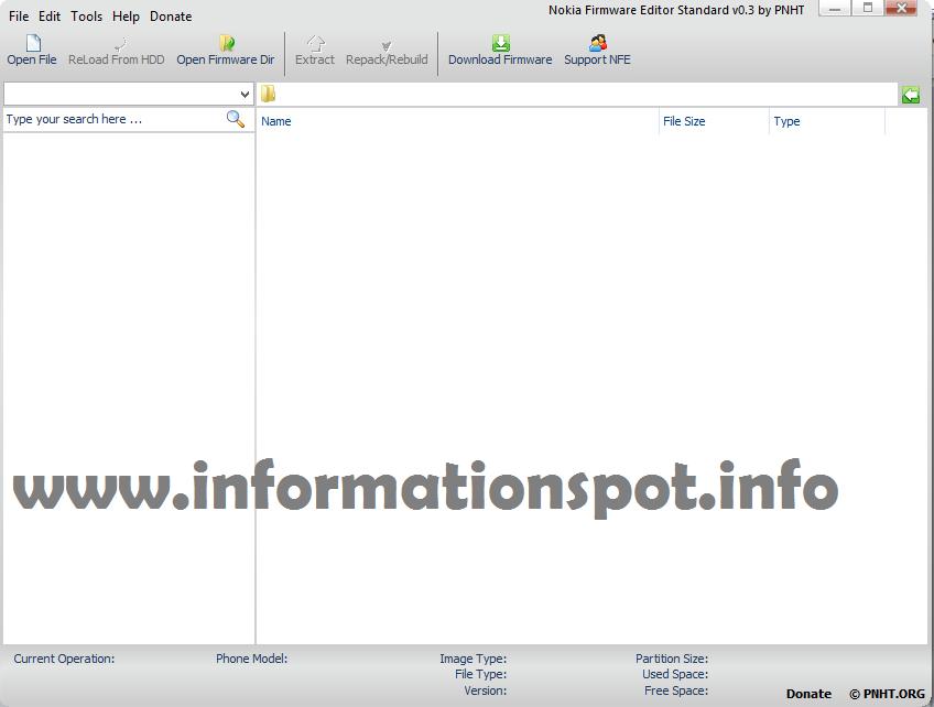 nokia firmware editor2 www.informationspot.info