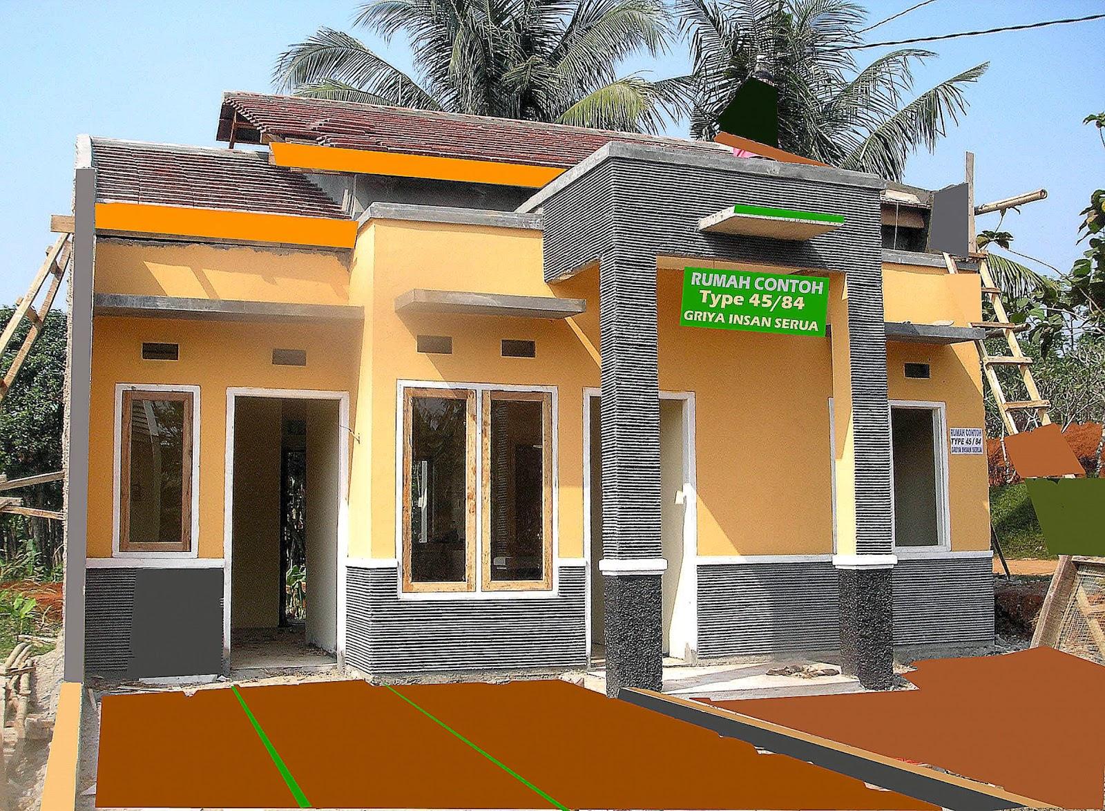 Desain Rumah Bangunan Kampung