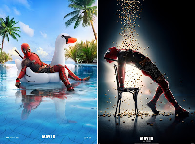 Deadpool 2 Hilarious Teaser Theatrical One Sheet Movie Posters