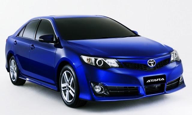 2016 Toyota Camry Atara R Release