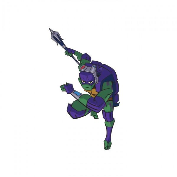 Un palo hightech para Donatello