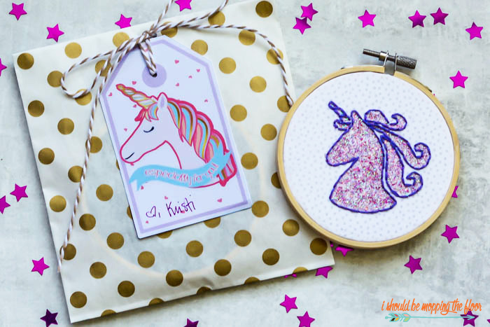 Unicorn Gift Idea and Tags