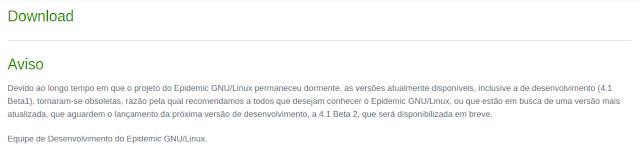 Projeto brasileiro Epidemic GNU/Linux estacionou, e você pode ajudar a alavancar!