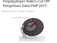 Cut-Off Pengiriman Data PMP 2017 Diperpanjang, Ini yang Harus Diperhatikan