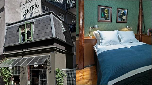 La guarida de bam hoteles peque os for Descripcion de una habitacion de hotel