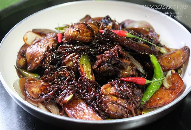 Amies Little Kitchen Tips Mudah Ayam Masak Kicap Jawa Style