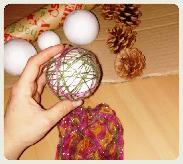 DIY Χριστουγεννιάτικα στολίδια alleycraft