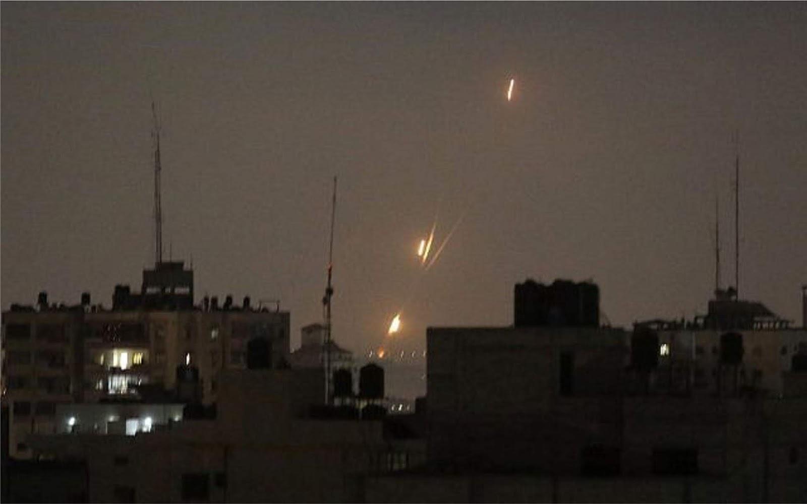 Roket dari Jalur Gaza sampai ke halaman sebuah Rumah penduduk Israel