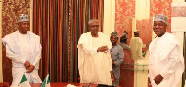 Breaking News: Senators In Closed-Door Meeting Buhari Over Saraki vs IGP Idris Crisis