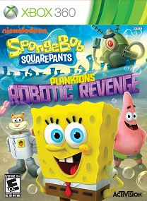 SpongeBob SquarePants Planktons Robotic Revenge XBOX360-SPARE
