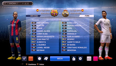 Screenshot Pes 2017 Android