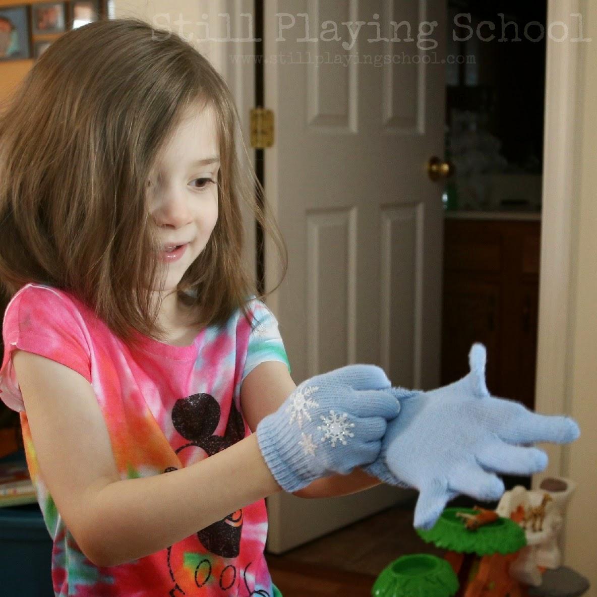 Latex gloves dentist