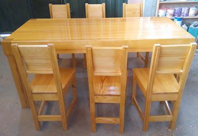 Juego de comedor de 6 sillas en Lima