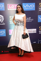Actress Pooja Salvi Stills in White Dress at SIIMA Short Film Awards 2017 .COM 0036.JPG