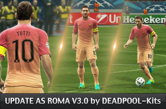 PES 2013 AS Roma 2016 2017 GDB Kits UPDATE 3.0 bdd865942