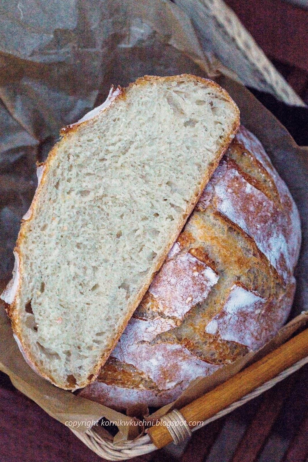 Biały chleb z zaczynem biga