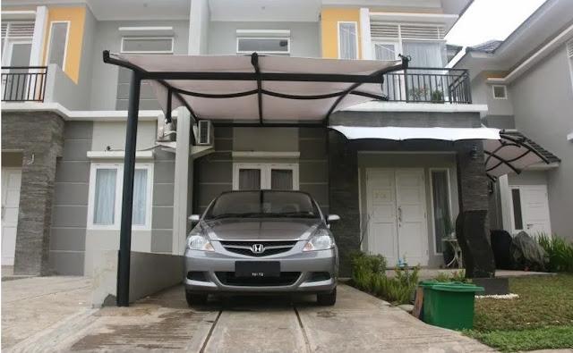 Model Garasi Mobil Depan Rumah Minimalis