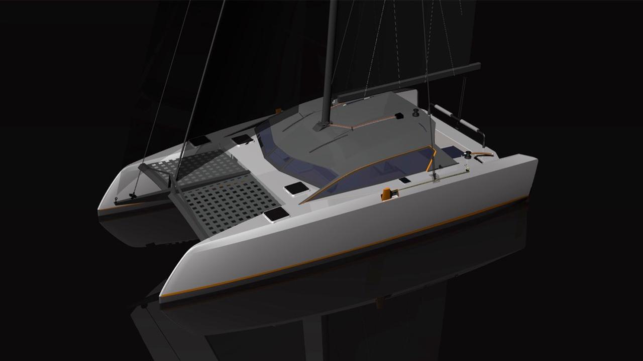 "New Grainger ""Raku 32"": High Performance Sport Cruiser – Catamaran"