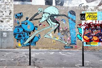 Sunday Street Art : Retro - avenue Jean Aicard - Paris 11