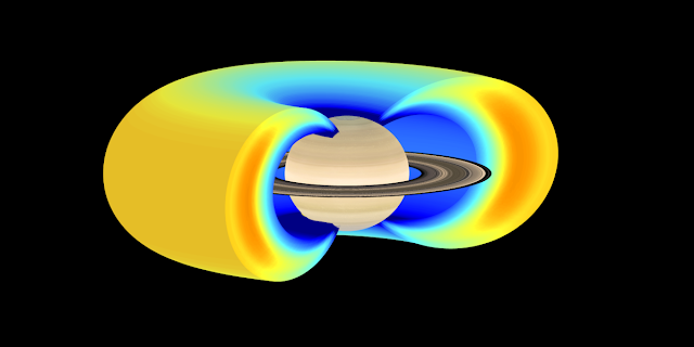 A new study describes a new way to create Saturn's radiation belts. Credit: Emma Woodfield