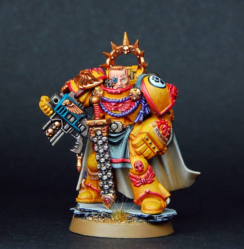 The Brush Brothers: finished model: Space Marine Web