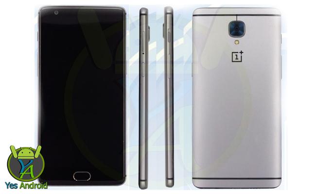 OnePlus 3 Dual SIM TD-LTE-A A3000 64GB Full Specs Datasheet