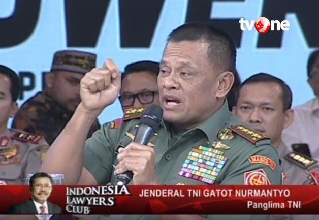Panglima Jenderal TNI Gatot Nurmantyo